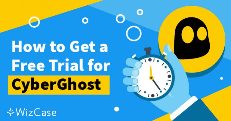 วิธีการทดลองใช้ CyberGhost ฟรี 45 วัน